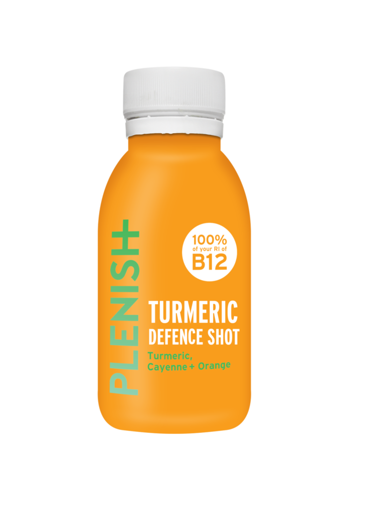 Plenish Organic Turmeric Defence Shot