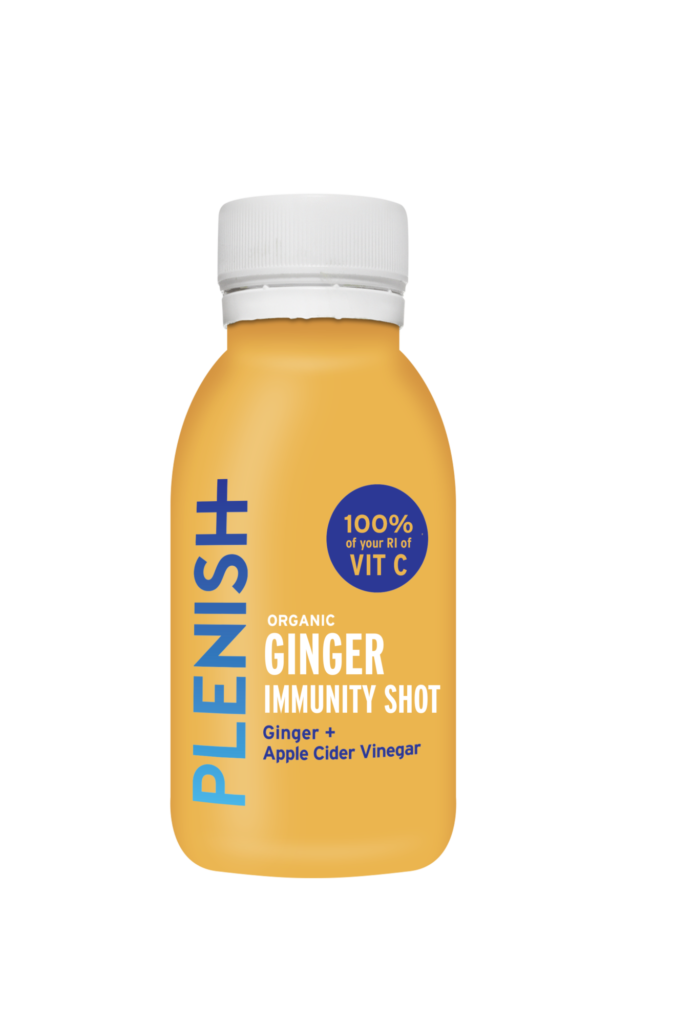 Plenish Ginger Immunity Juice Shot